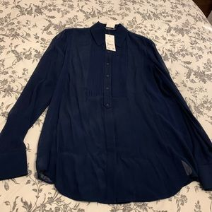 Vince Navy Blouse